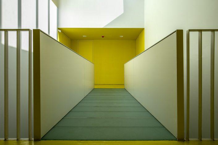 Hamlet student studios, corridor