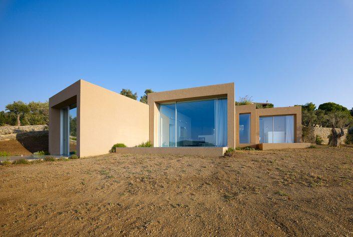 Κατοικία στη Σκιάθο, εξωτερική όψη