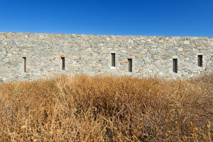 Syros house I, facade