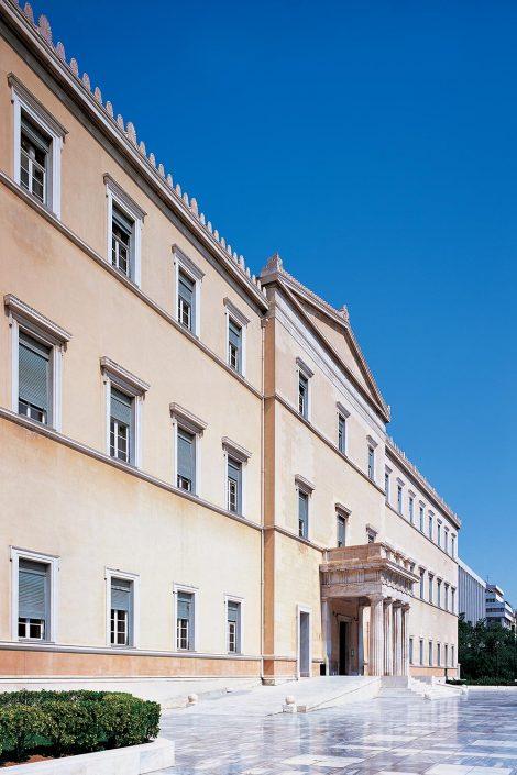 Hellenic Parliament, exterior