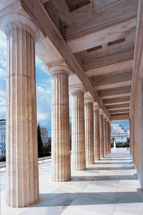 Hellenic Parliament, the Colonnade