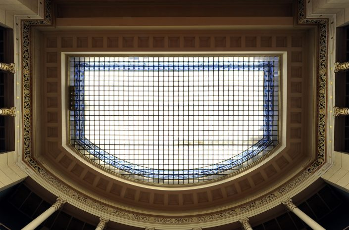 Plenary session hall, ceiling