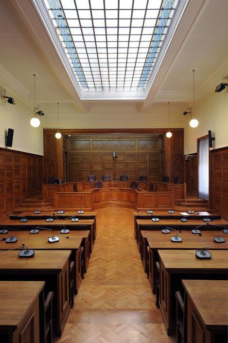 Hellenic Parliament, Senate hall