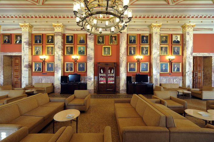 Hellenic Parliament, MP's lounge