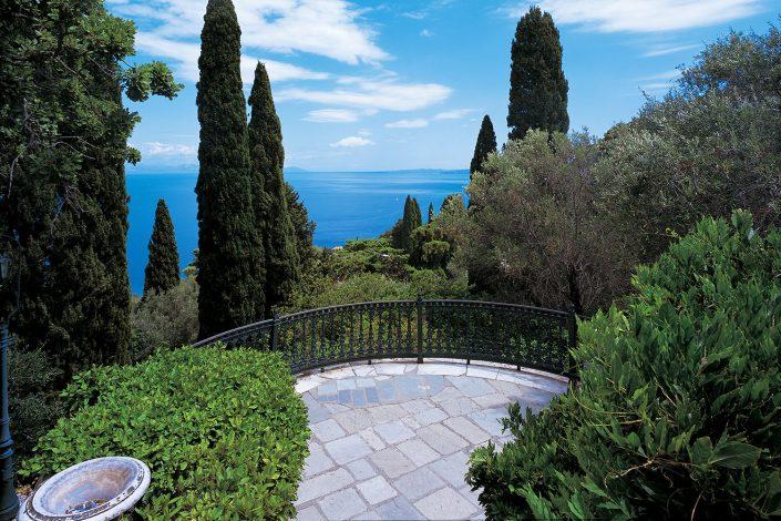 Achilleion, gardens