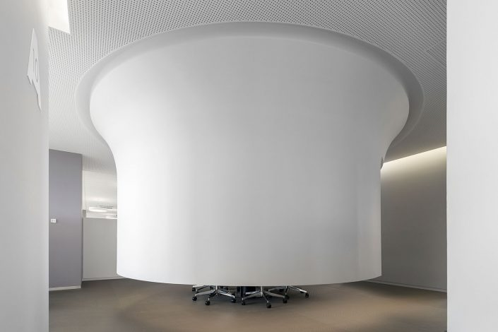 offices renovation in COSMOTE headquarters, meeting room