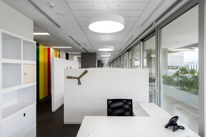 offices renovation in COSMOTE headquarters