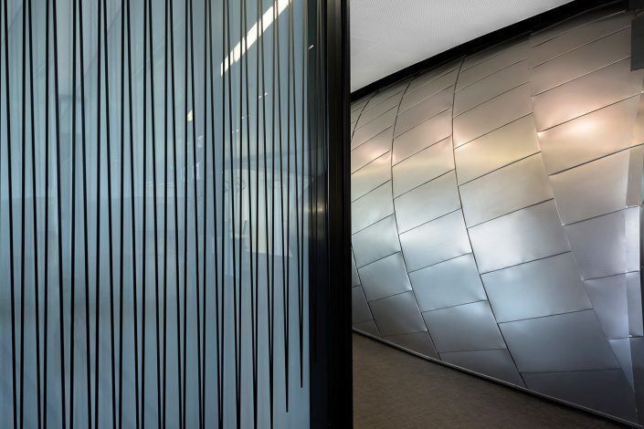 offices renovation in COSMOTE headquarters, detail