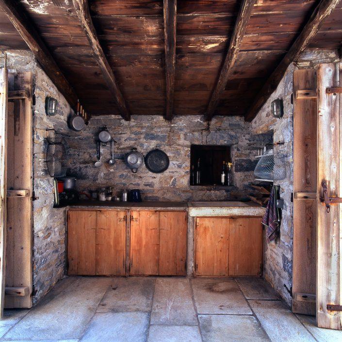 Vacation house at Labinou, Pelion