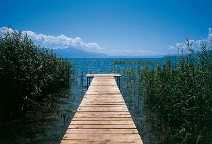 Ochrida lake, FYROM