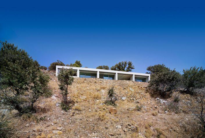 House in Kea II, En route architects