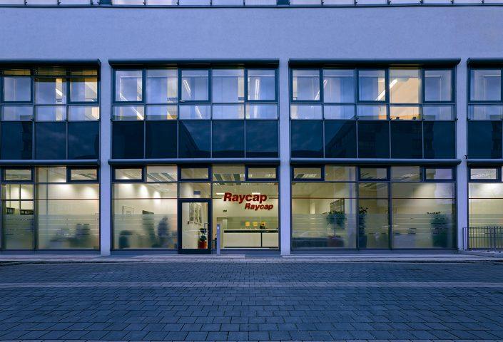 Γραφεία Raycap, Μόναχο, εξωτερική όψη