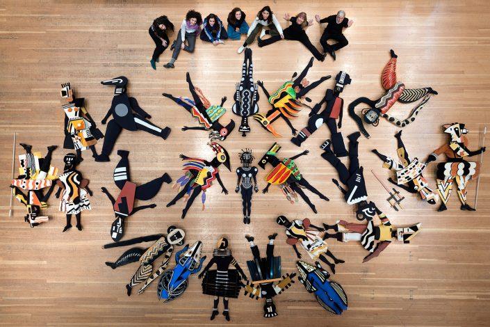 La Création du Monde, Fluxum Foundation, χορογραφία-ενδυματολογία: Millicent Hodson και Kenneth Arche