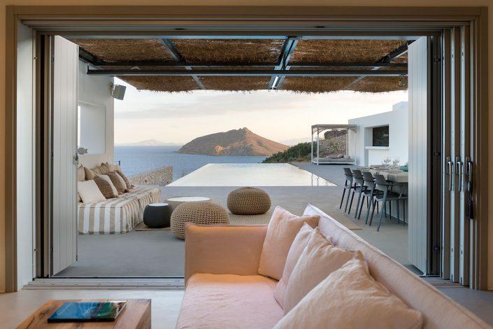 House in Isterni, Paros, Kimon Veneris architect