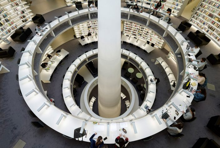 Stelios Ioannou Learning Resource Centre, Interior