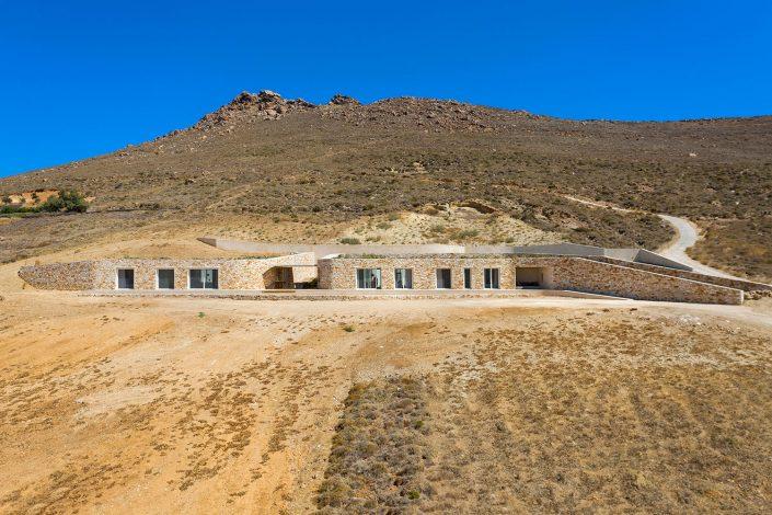Éléments house, G+A Evripiotis, Paros Island