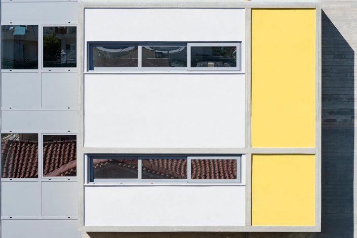 Building in Vrilissia, Athens, architect Charis-Athanasopoulou